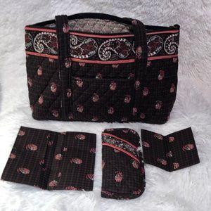 Vera Bradley Tote and accessories